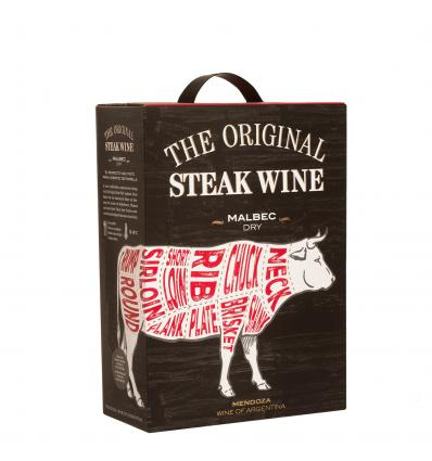 The Original  Steak Wine Malbec 13,5%vol 3,0L