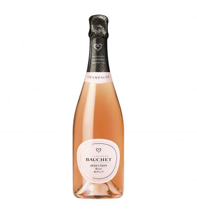 Bauchet Seduction Rose Champagne Brut 12,5%vol 0,75L