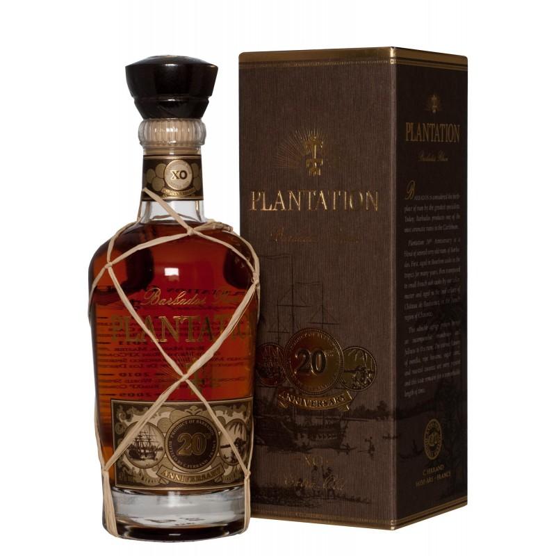 Plantation Barbados Extra Old Rum 40,0%vol 0,7l