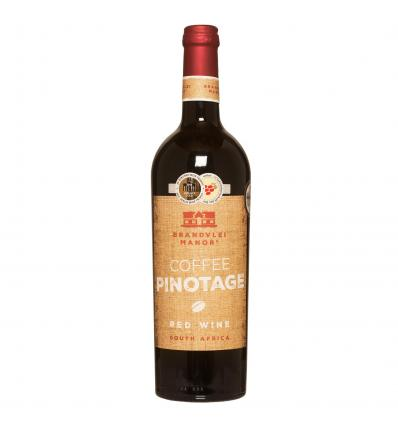 Brandvlei Manor Coffee Pinotage 14,0%vol 0,75L