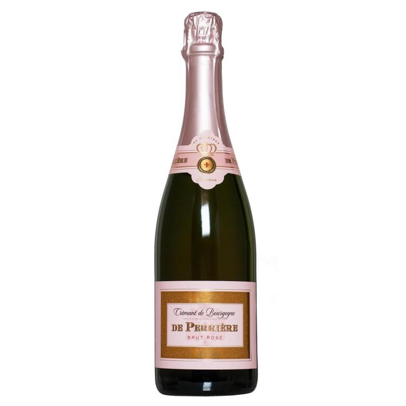 De Perriere Cremant de Bourgogne Brut Rose 12,0%vol 0,75L