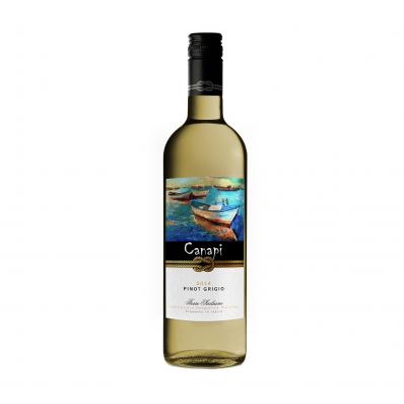 Canapi Pinot Grigio 12,5%vol 0,75L