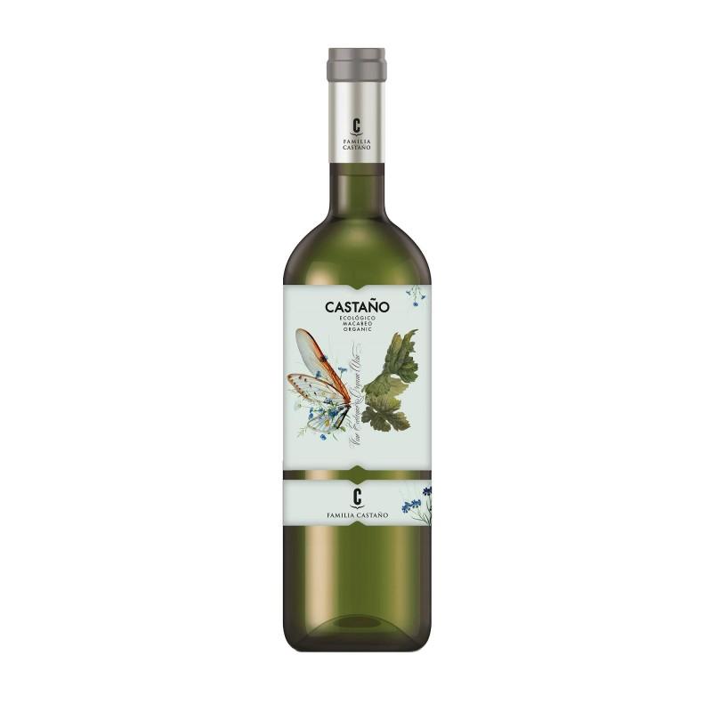 Castano Organic Macabeo 12,0%vol 0,75L