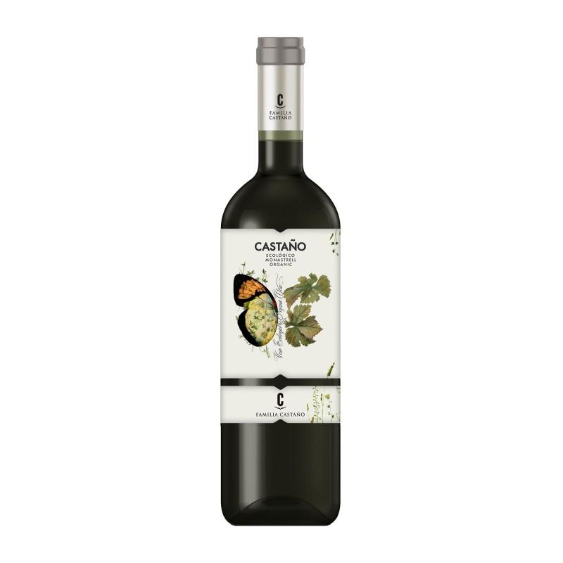 Castano Organic Monastrell 13,5%vol 0,75L