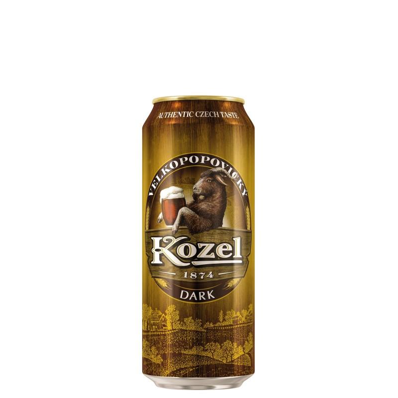 Velkopopovicky Kozel Dark 3,8%vol 0,5L