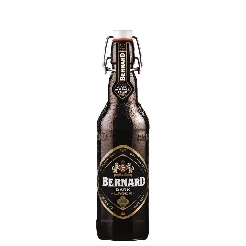 Bernard Dark Lager 5,0%vol 0,5L