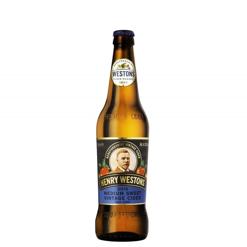 Henry Westons Vintage Medium Sweet Cider 4,5%vol 0,5L