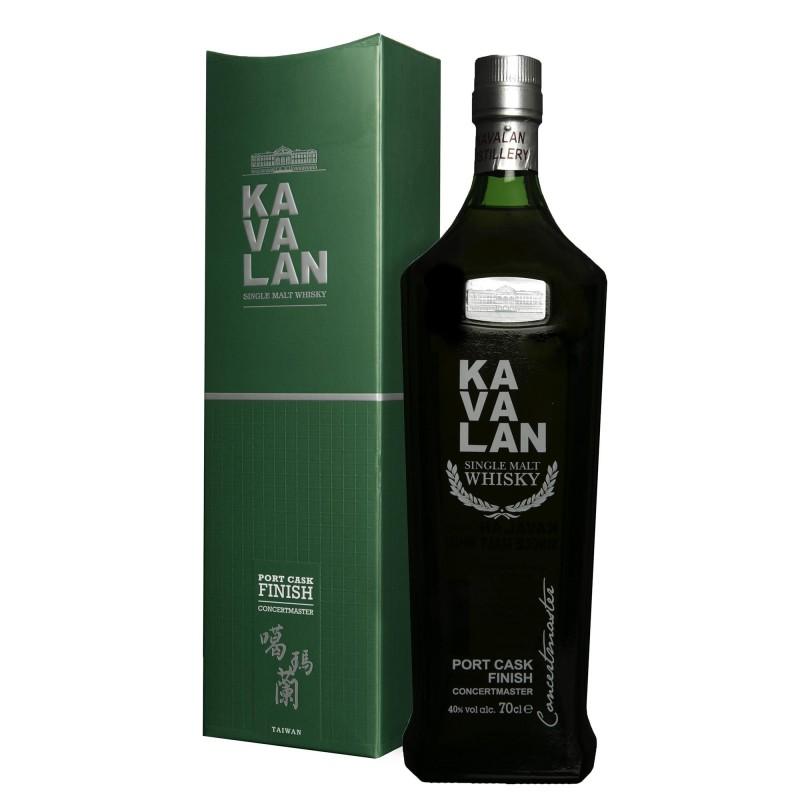 Kavalan Concertmaster Single Malt Taiwan Whisky 40,0%vol 0,7L