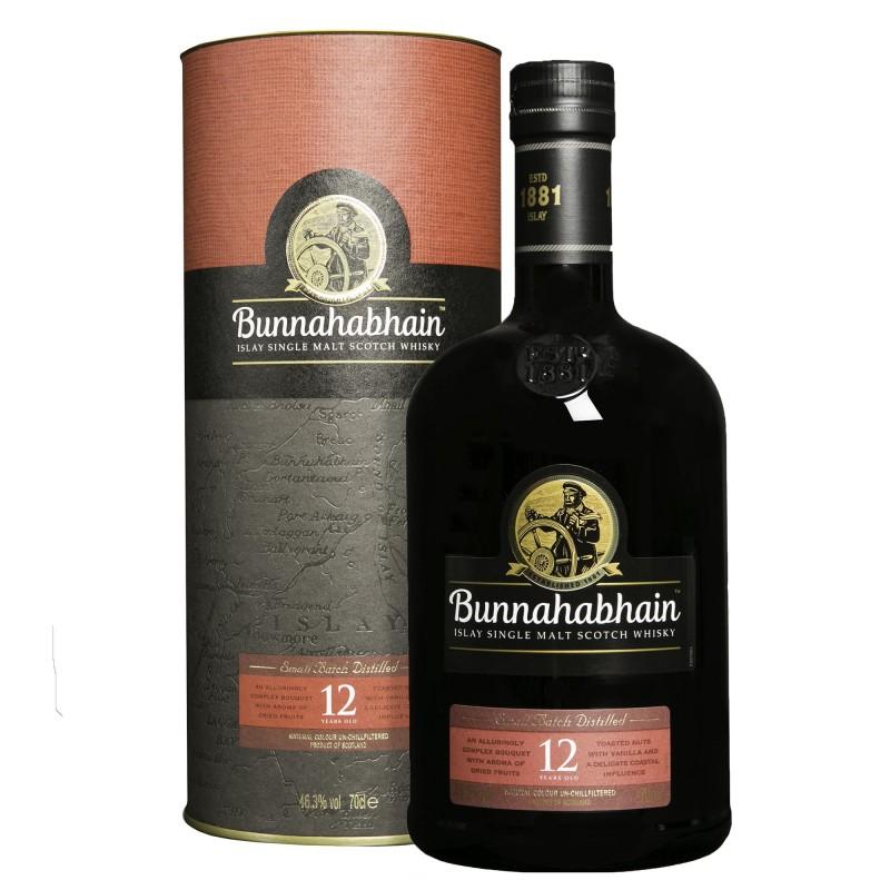 Bunnahabhain Single Malt Scotch Whisky 12 YO 46,3%vol 0,7L