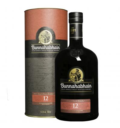 Bunnahabhain Single Malt Scotch Whisky 12 YO 46,3%vol 0,7L