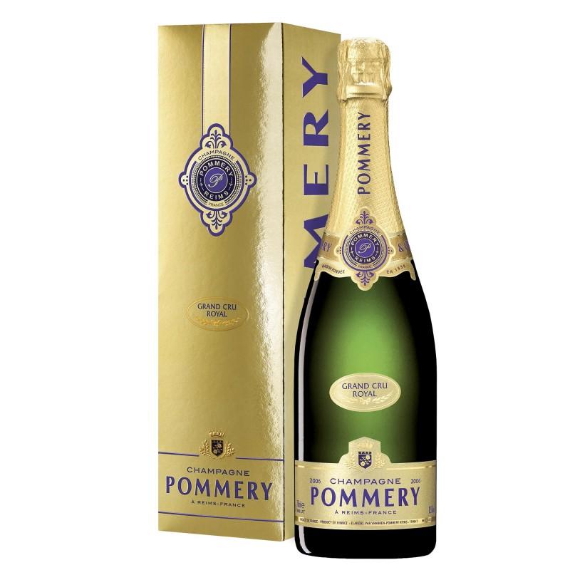 Champagne Pommery Grand Cru Royal 12,5%vol 0,75L
