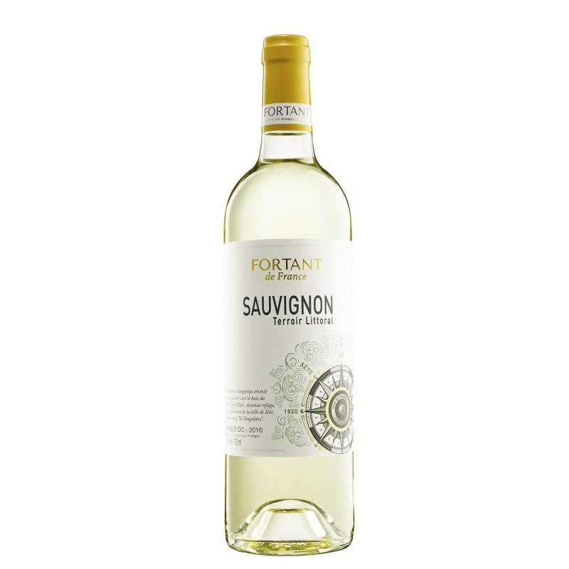 Fortant de France Terroir Littoral Sauvignon Blanc 12,0%vol 0,75L