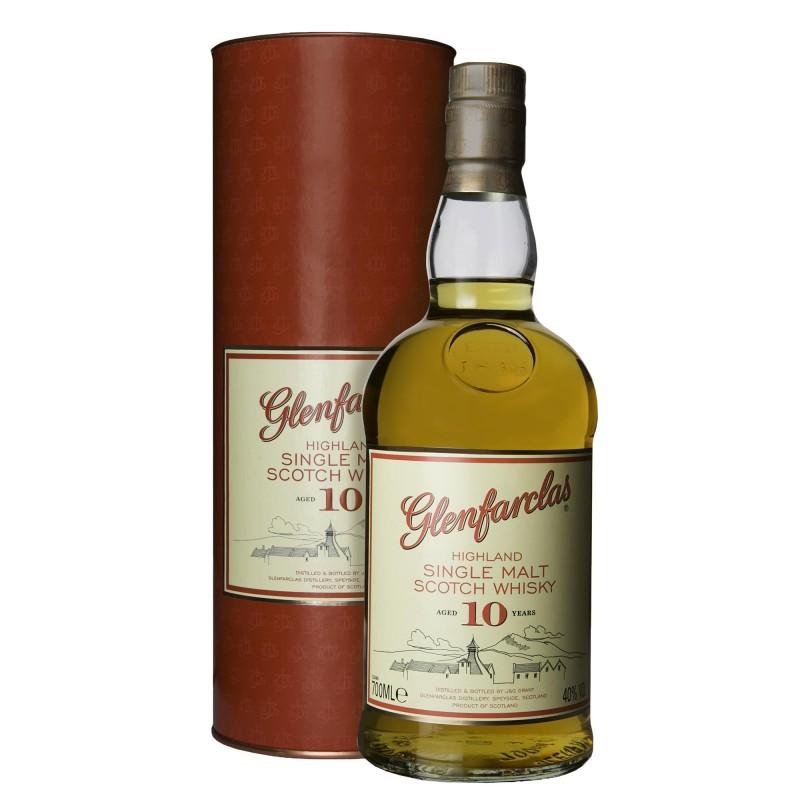 Glenfarclas Single Malt Scotch Whisky 10 YO 40,0%vol 0,7L