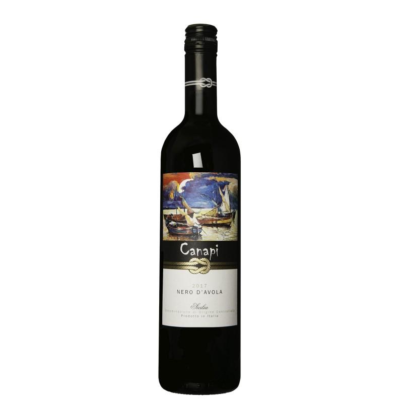 Canapi Nero d´Avola 14,0%vol 0,75L
