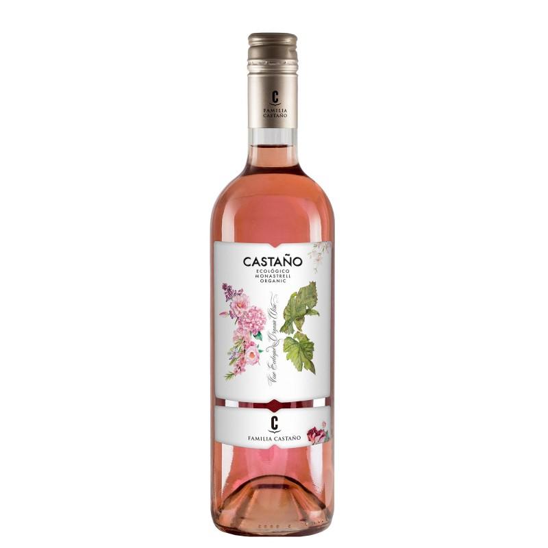 Castano Organic Monastrell Rose12,5%vol 0,75L