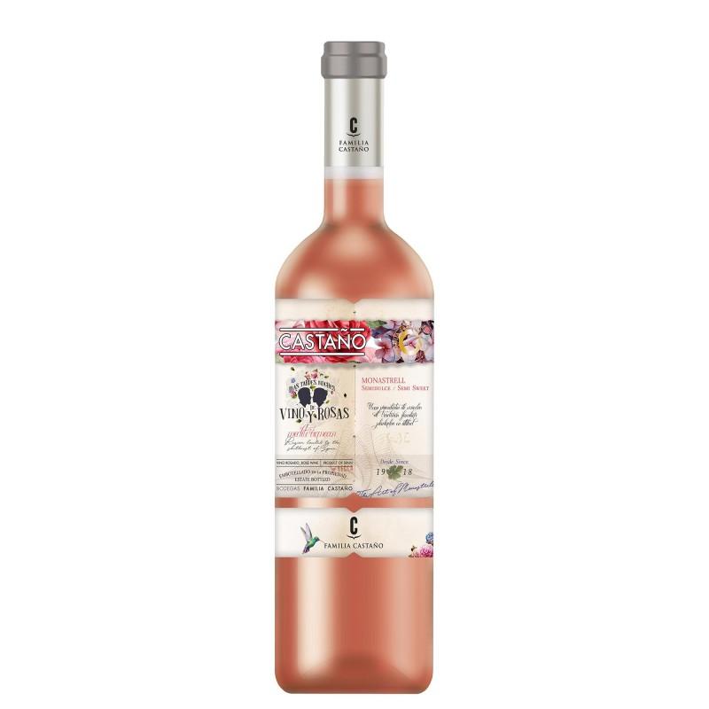 Castano Monastrell Semi Sweet Rose 11,0%vol 0,75L