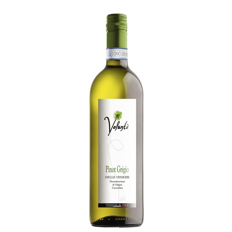 Volunte Pinot Grigio Delle Venezie 12,0%vol 0,75L