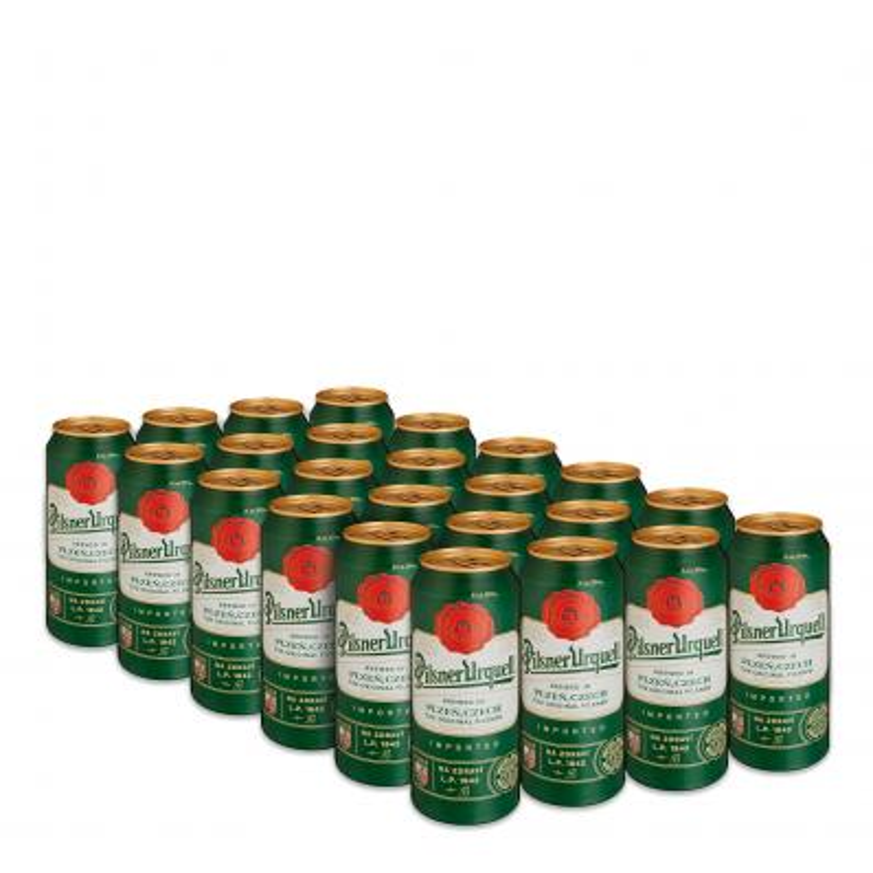 Pilsner Urquell 4,4%vol 0,5L kinkepakk( 6x4-Pack Beer 4x0,5L)