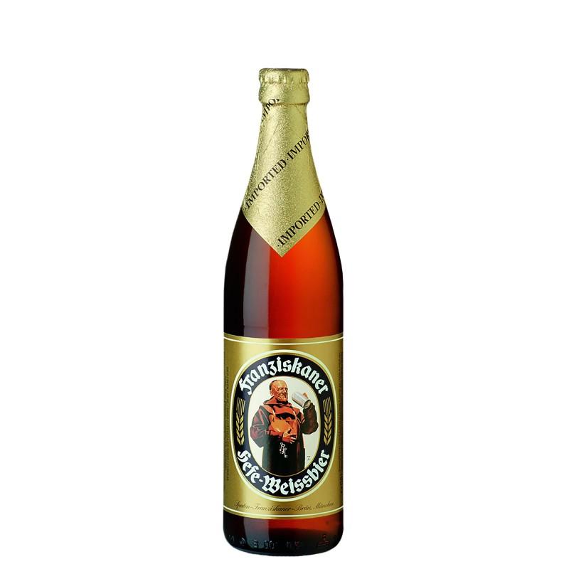 Franziskaner Hefe-Weissbier 5,0%vol 0,5L