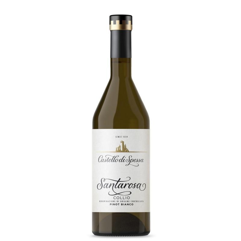 Castello di Spessa Santarosa Pinot Bianco 13,5%vol 0,75L