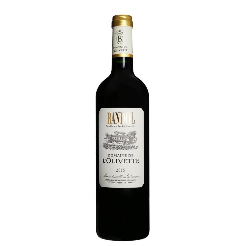 Domaine de l`Olivette Bandol Rouge 15,0%vol 0,75L