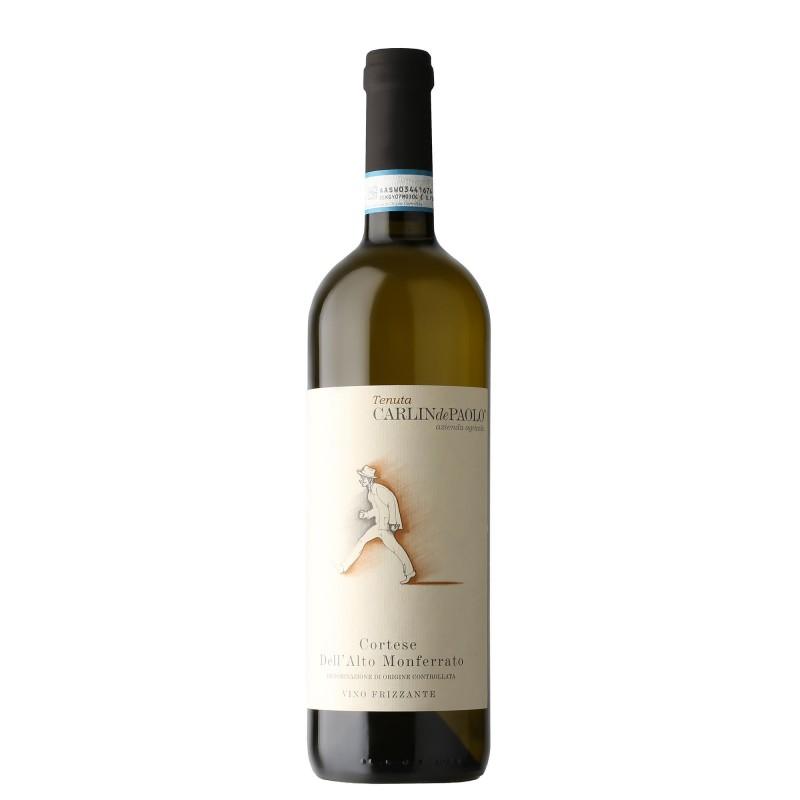 Carlin de Paolo dell`Alto Monferrato Cortese Frizzante 12,0%vol 0,75L