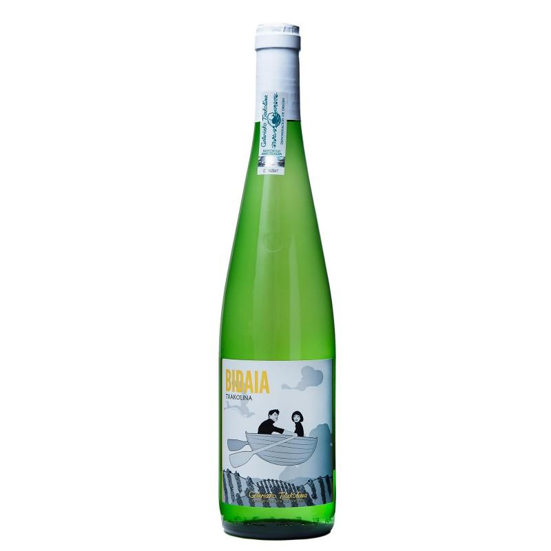 Bidaia Txakolina White 10,5%vol 0,75L