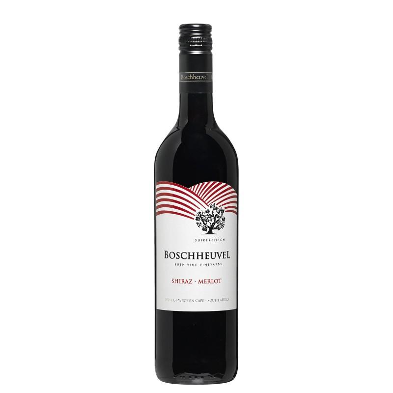Boschheuvel Shiraz-Merlot 13,5%vol 0,75L