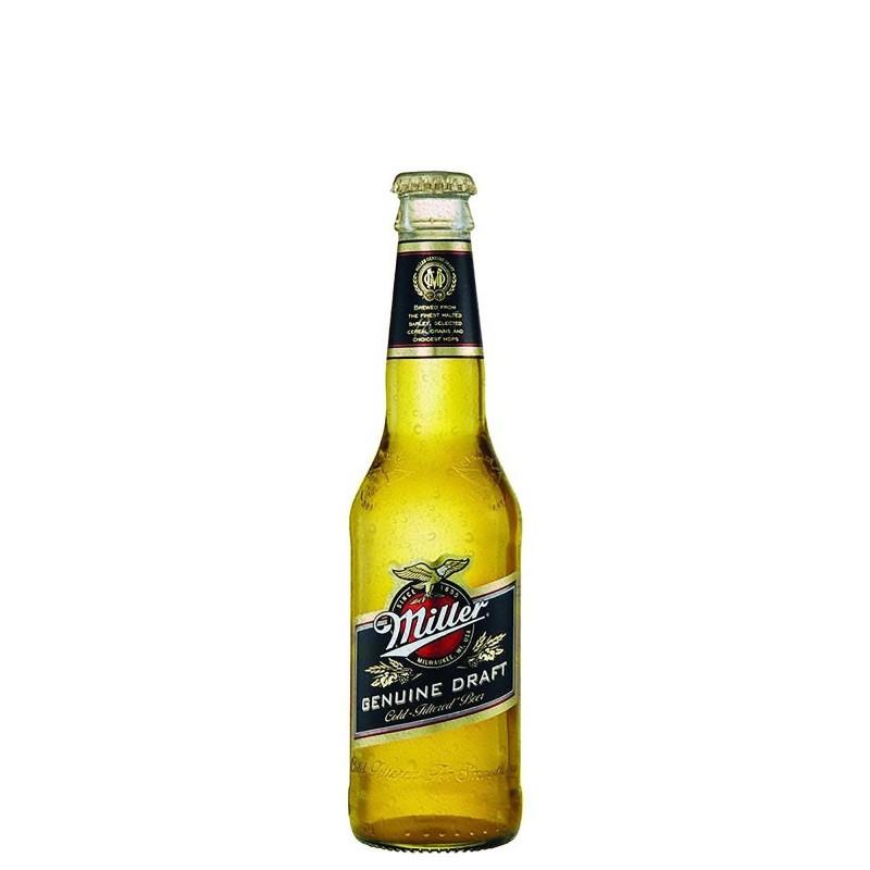 Miller Genuine Draft 4,7%vol 0,33 L