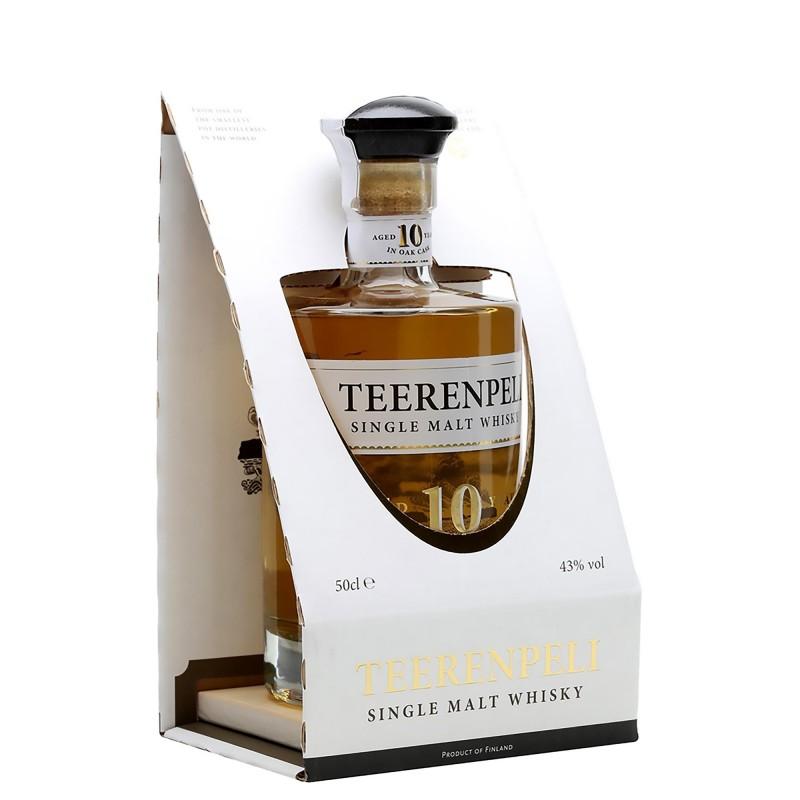 Teerenpeli Aged 10Y Single Malt Whisky 43,0%vol 0,5L