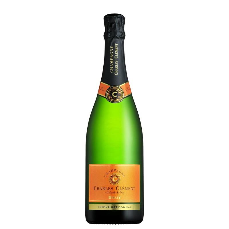 Champagne Charles Clément Brut Chardonnay 12,0%vol 0,75L