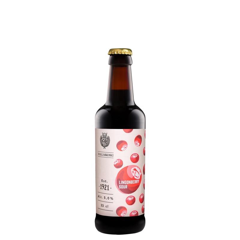 Mallaskoski Lingonberry Sour 5,0%vol 0,33L