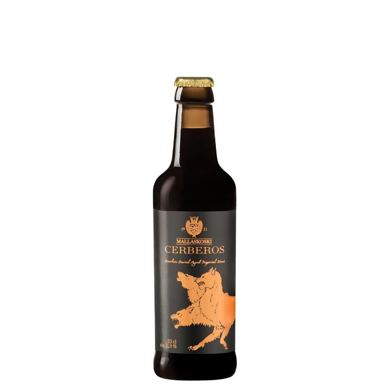 Mallaskoski Cerberos Bourbon Barrel Aged Imperial Stout 11,8%vol 0,33L