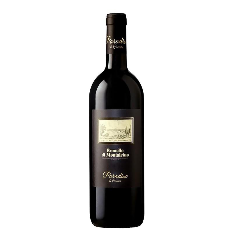 Paradiso di Cacuci Brunello di Montalcino 14,0%vol 0,75L