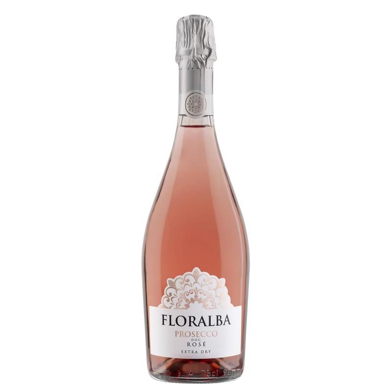 Floralba Prosecco Rose Extra Dry 11,0%vol 0,75L