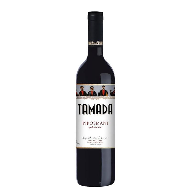 Tamada Pirosmani Semi Sweet Red 12,5%vol 0,75L