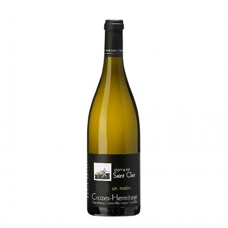 Domaine Saint Clair Crozes-Hermitage Un Matin Blanc 13,0%vol 0,75L