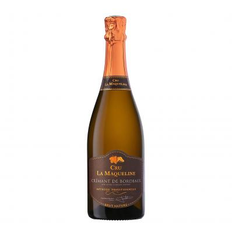 Cru La Maqueline Cremant de Bordeaux Brut Nature 11,5%vol 0,75L