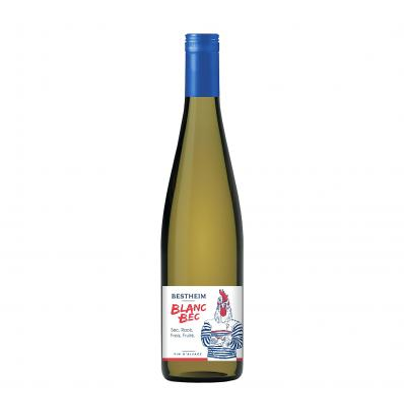 Bestheim Blanc Bec Alsace 12,5%vol 0,75L