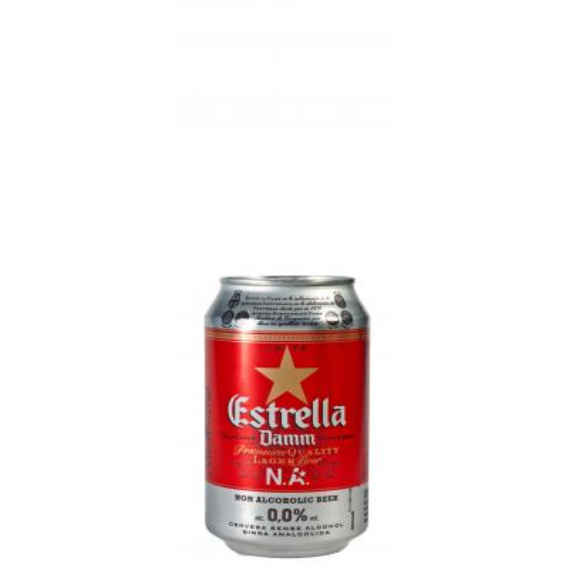 Estrella Damm alkoholivaba õlu 0,33l